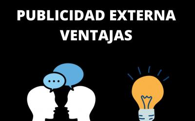 APOYOS DE PUBLICIDAD EXTERNA Y SU IMPACTO