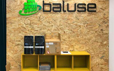 Instalación de Vinilo polimérico laminado para BALUSE (Barcelona)