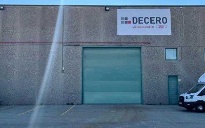 Instalación de lona frontlit para DECERO (Polinyà)